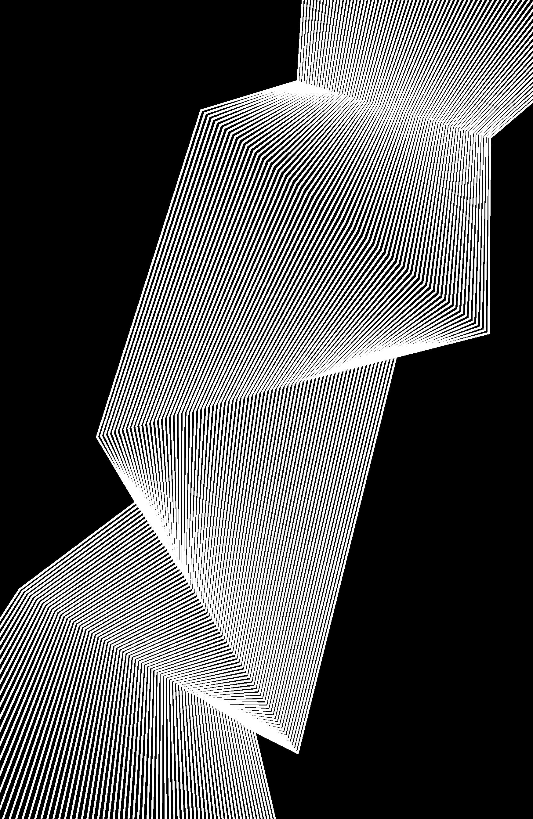 white decorative stripes